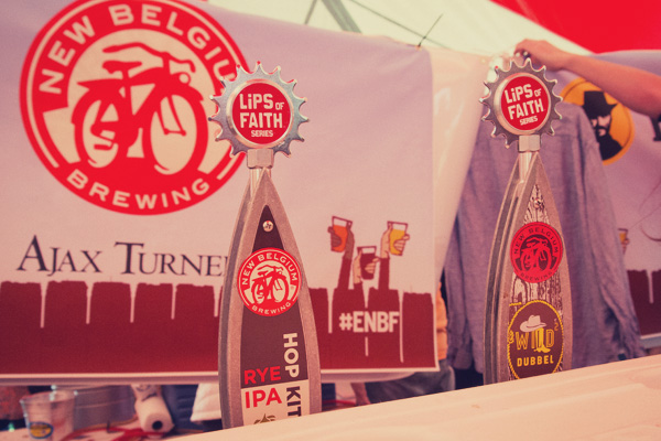 New Belgium Brewing at the 2014 East Nashville Beer festival