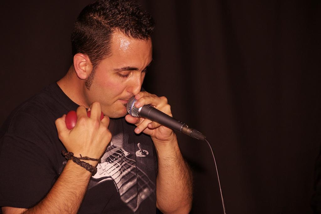 Jordi Barceló, cantante de Agon Band