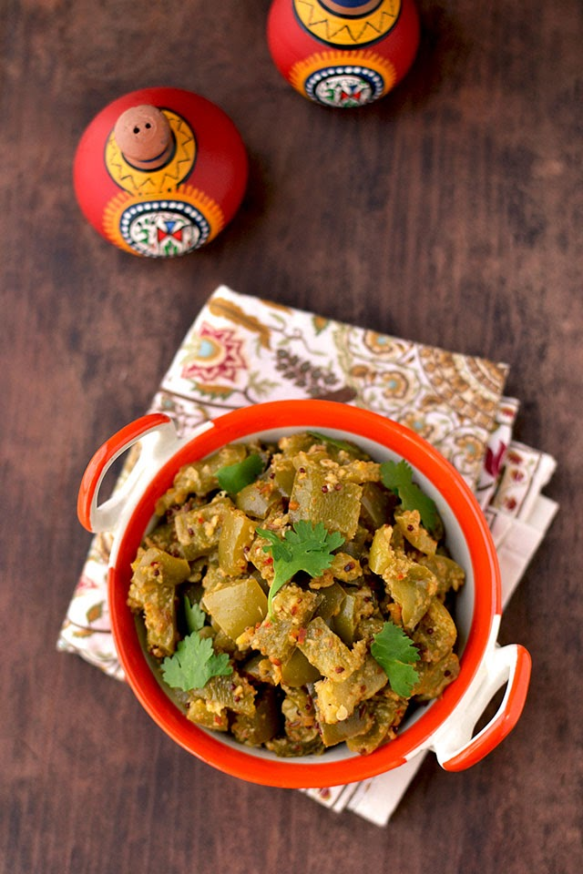 Dry Green Pepper Curry