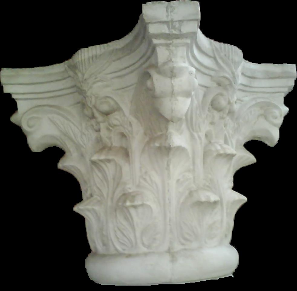 Mahkota kukumacan lingkar pilar diameter 32 cm