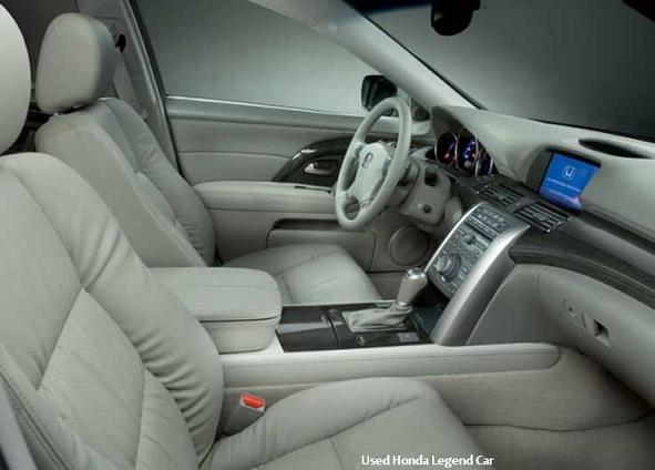 Used Honda Legend Car Interior Lighting and Interior Look