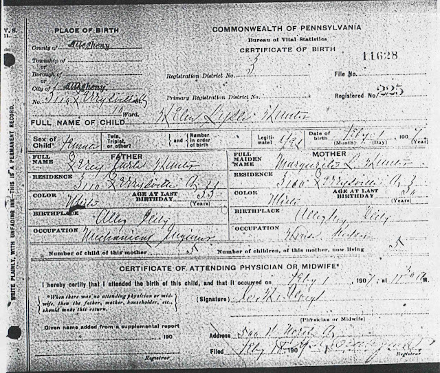 Kentucky Divorce Records: From Maine To Kentucky: Grandmother's Birth Certificate