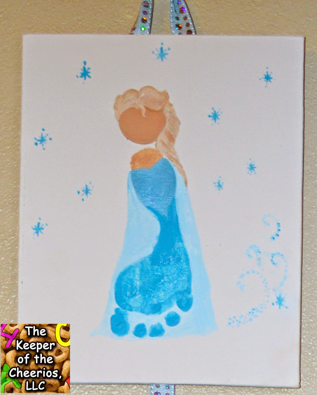 frozen footprints crafts for elsa and olaf - 28 images - frozen elsa ...