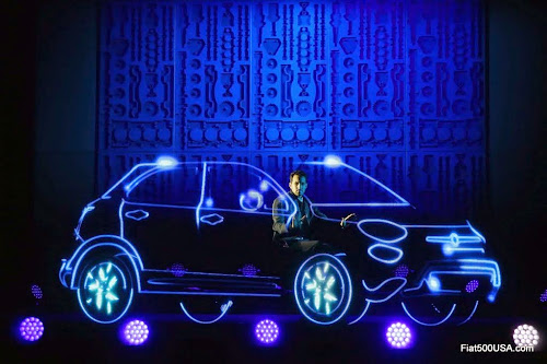 Fiat 500X Illusion by Dynamo