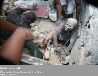 Foto del terremoto de Haiti 12/01/2010, de Daniel Morel