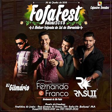 Fofa Fest Balsas 2018