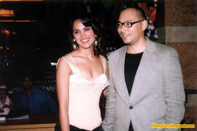 lara dutta and kelly dorjee_FilmyFun.blogspot.com