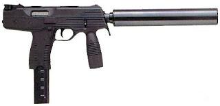 Steyr TMP Submachine Gun