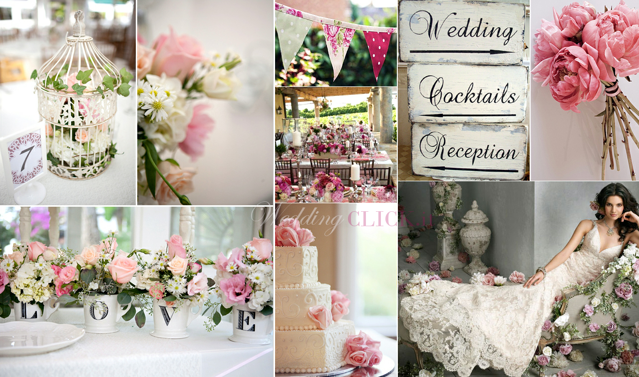 Matrimonio Country Chic House : Consigliami il matrimonio shabby chic