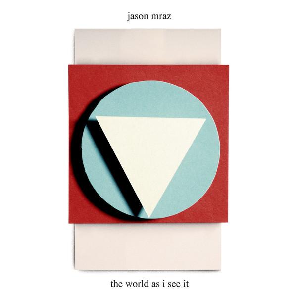 Jason Mraz - The World As I See It - Single Cover