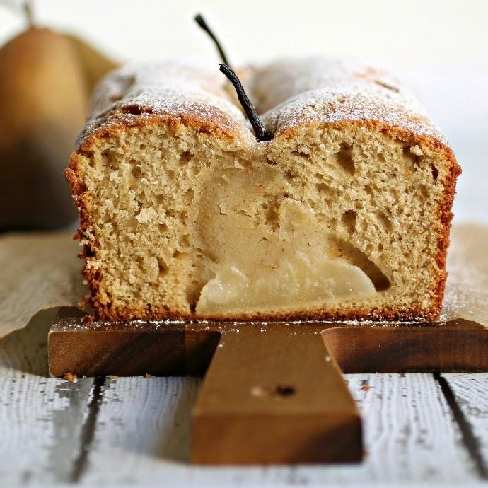 Sweet Spiced Pear Bread