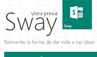Nueva opcion Outlook Office Online: Sway