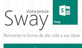 Nueva opcion Outlook Office Online: Sway