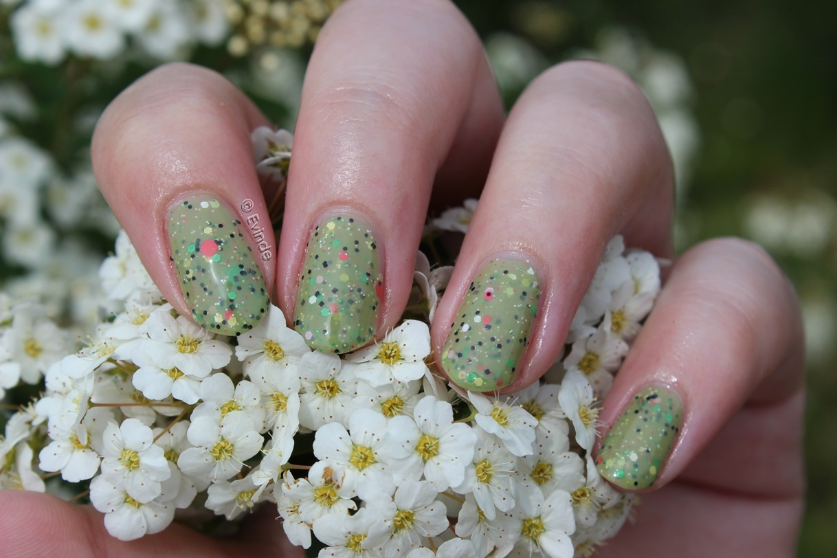 Dollish Polish Look At The Flowers Lizzie