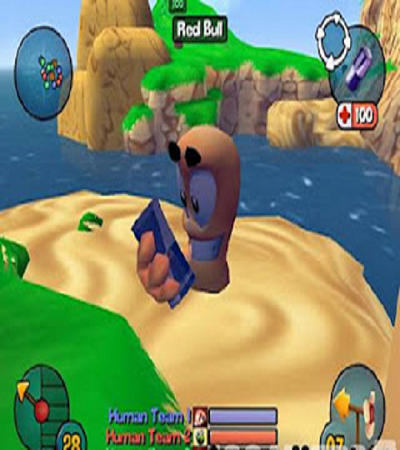 Worms 3D Download Mediafire PC Game RIP