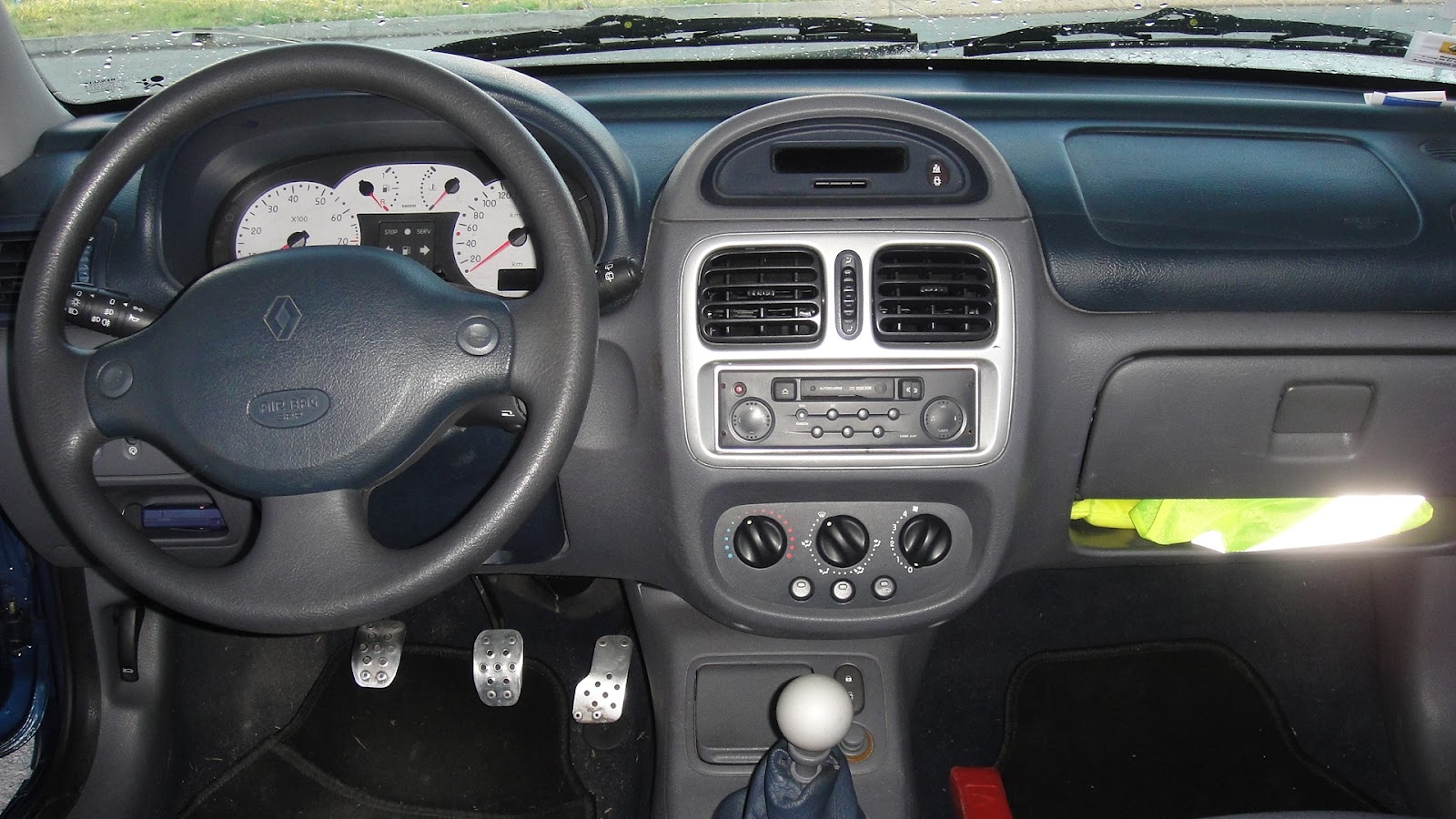 Team b16 renault clio rs int rieur for De ceuster interieur