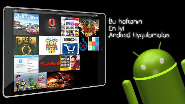 En İyi Android Uygulamaları 2013