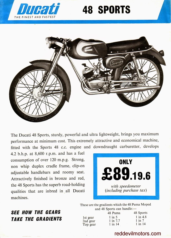 Ducati 48cc Sports model