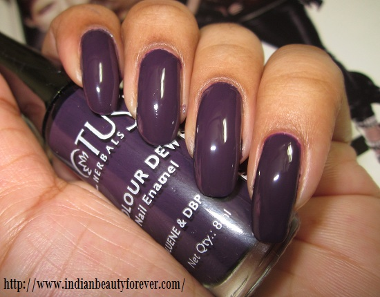 This Color I Have Got Plum Delight Just For The Experimentation As Never Liked Purple Shades When It Comes To Nail Paints But One Is