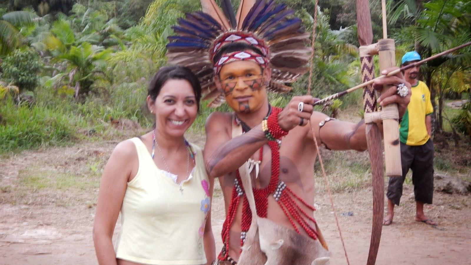 Eu e o Pataxó