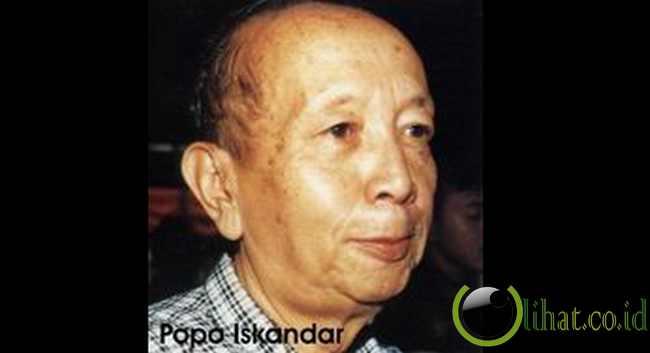 POPO ISKANDAR ( Garut, Jawa Barat 1929 – 2000 )