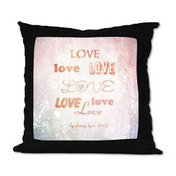 Love Light Suede Pillow