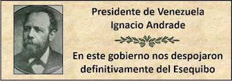 Presidente Venezolano Ignacio Andrade