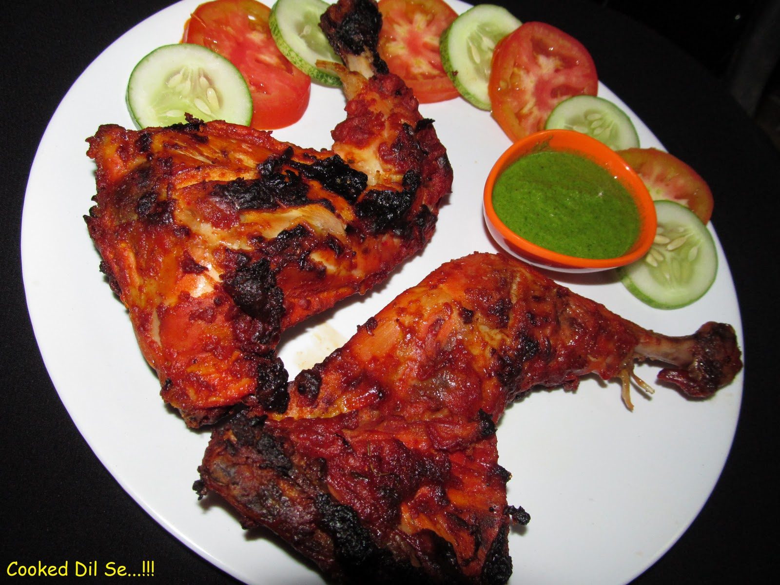 chicken tandoori one of the most popular dish in non veg tandoori ...