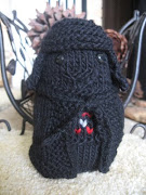 DarthPookie looks a little like a black dog. I wish I had made ribbing for .