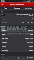 Samsung Galaxy S5 Zoom AnTuTu result