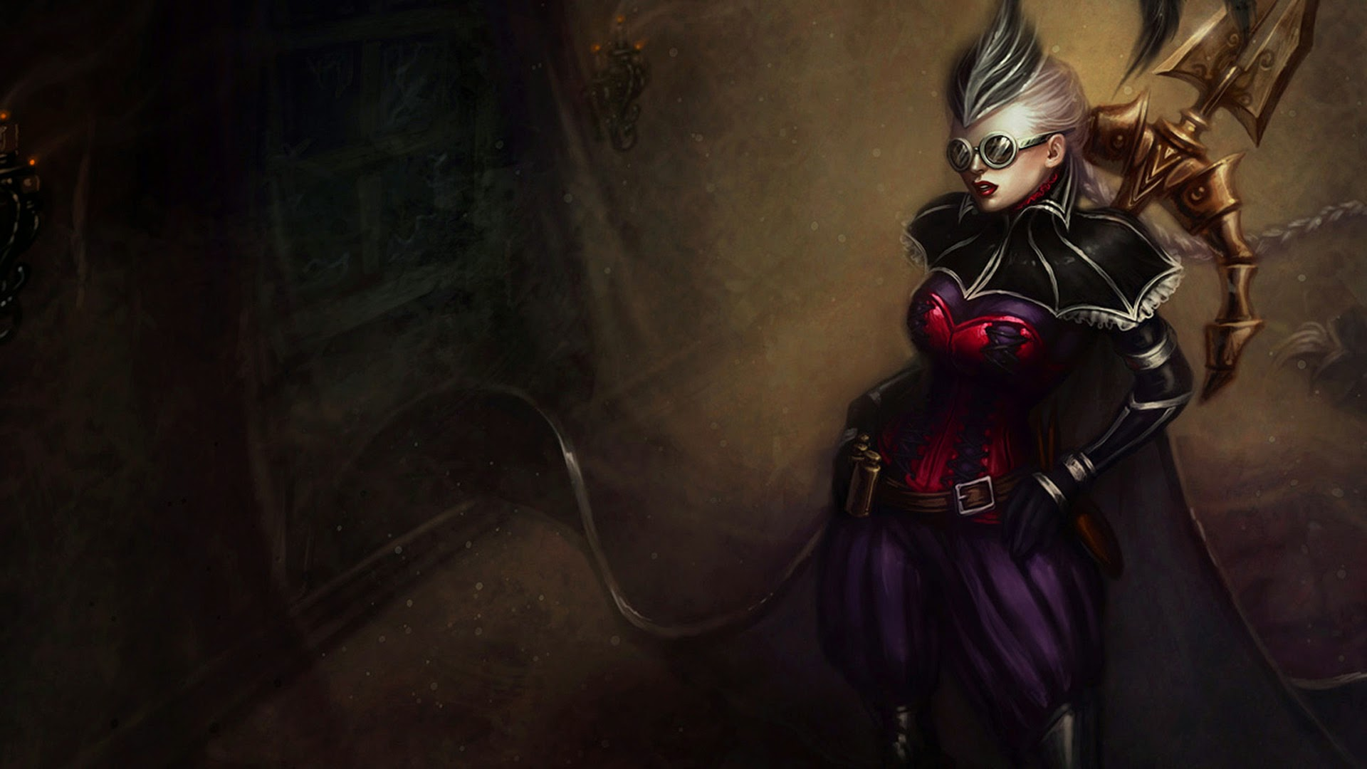 Vayne League of Legends Aristocrat b2 Wallpaper HD