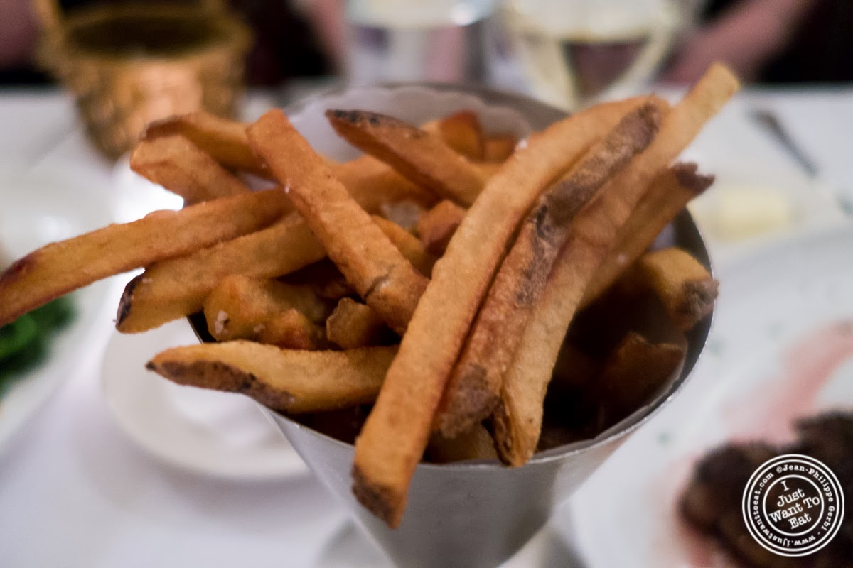 image of french fries at Sel et Poivre on the Upper East Side, NYC, New York