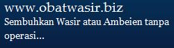 Obat Wasir dan Ambeien Manjur di Obatwasir.biz