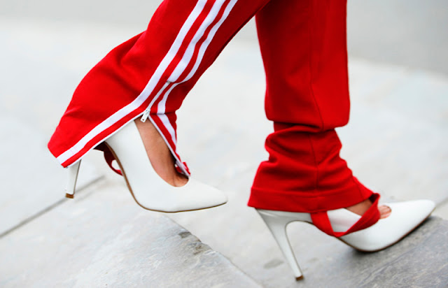 WHITE SHOES TREND
