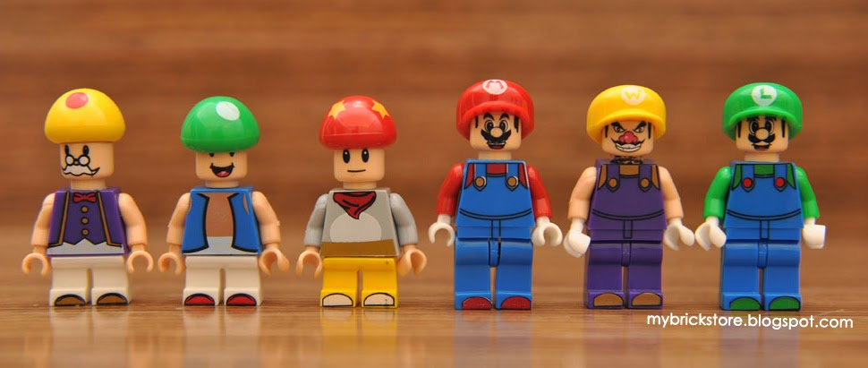 My Brick Store: Lego Mario and One Piece