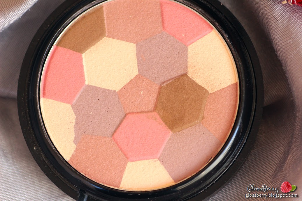 OFRA cosmetics - Blush/EyeShadow Roman 3D Mosaic review swatches פודרה סומק צלליות עפרה עופרה