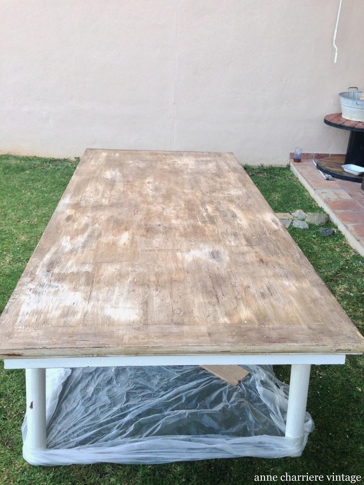 envejecer madera, mesa comedor,