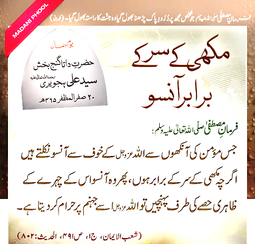 KGN Design Studio: AHadees-e-Mubarak in Urdu