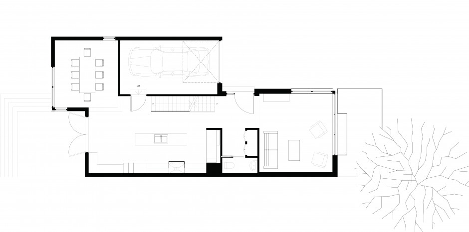 World of architecture small modern home with minimalist for Minimalist floor plans