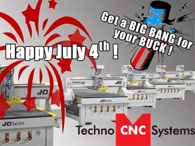 July CNC Router Special
