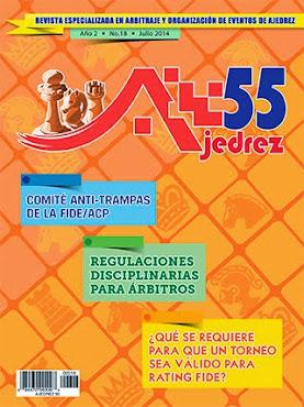 Revista Especializada en Arbitraje y Organización de eventos de Ajedrez (Clic a la imagen)
