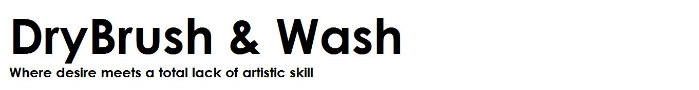Drybrush Wash