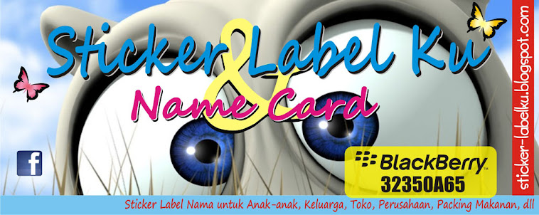 Sticker Label Nama Anak-2