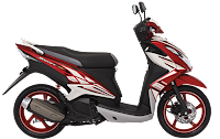 Yamaha Xeon RC Victorious Red