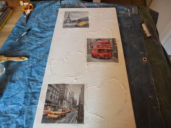 Très Ma petite vie: tutoriel tableau style abstrait à l'acrylique et  GU43