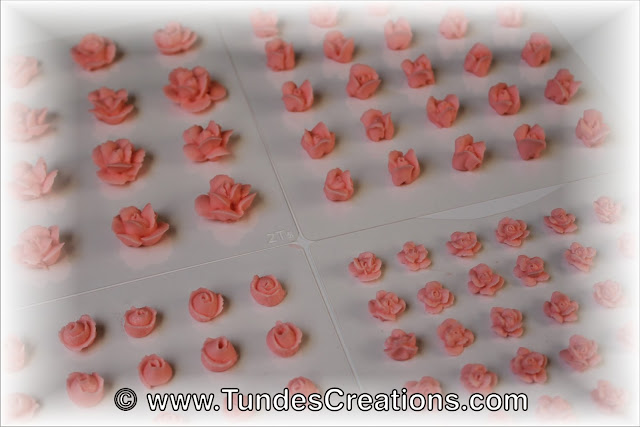 Toothpick roses by Tunde Dugantsi