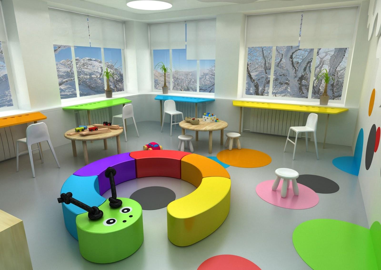 Проект: дизайн интерьера для детского туберкулезного диспанс.