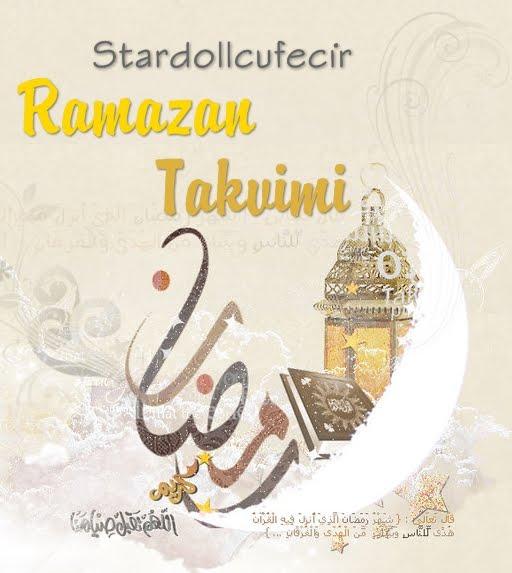 Ramazan Takvimimiz