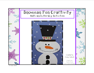 http://www.teacherspayteachers.com/Product/Snowman-Craftivity-Math-and-Literacy-Activities-1st-and-2nd-Grade-419282