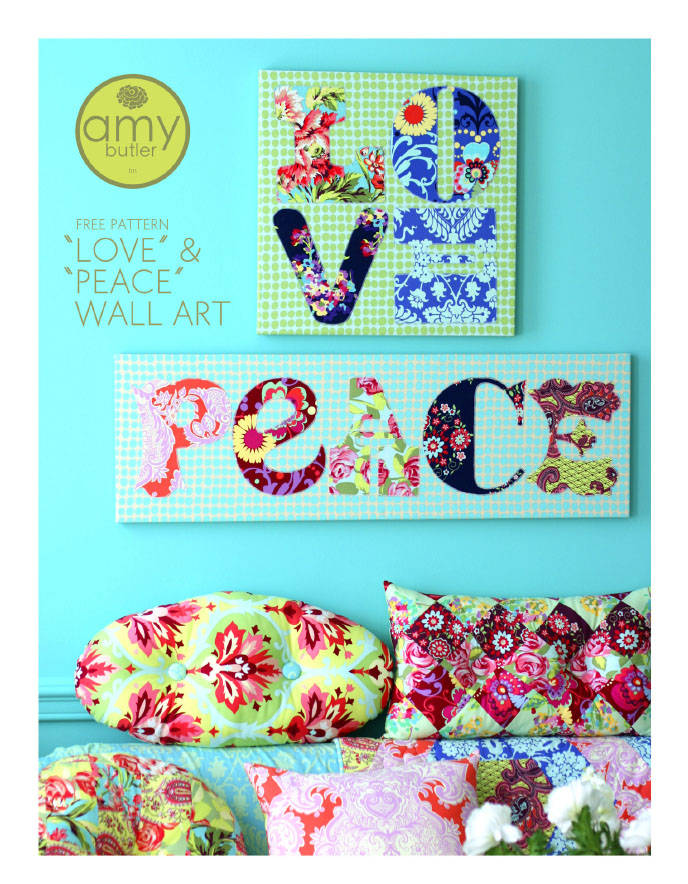 Quilting Room Wall Decor : Let it shine design